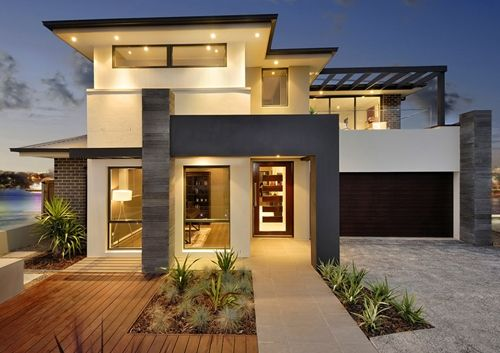 Contemporary home exteriors design ideas 7