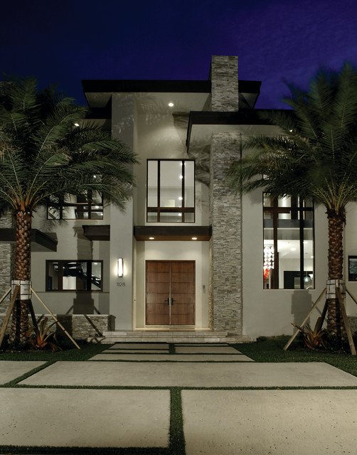 Contemporary home exteriors design ideas 9