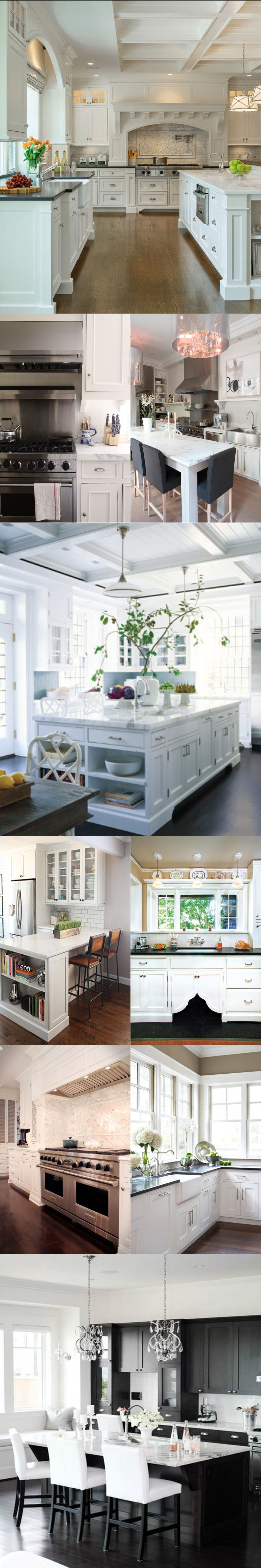 All New Classic White Kitchen