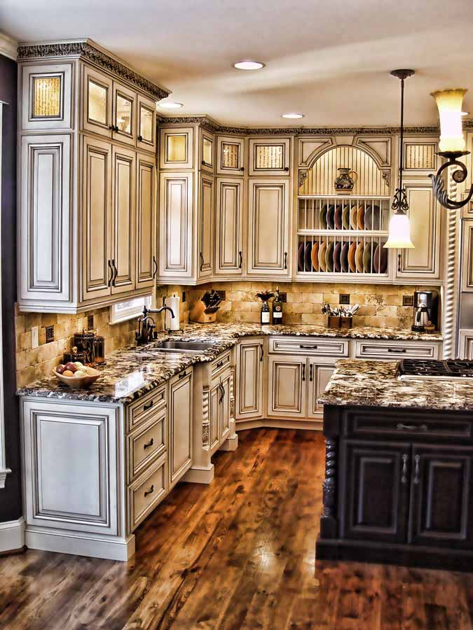 Antique Kitchen Cabinet Colors