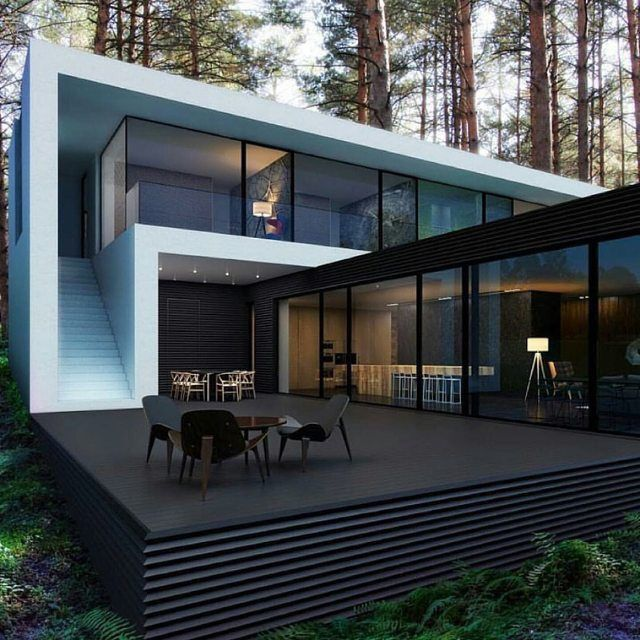 Awesome Modern House Designs 18