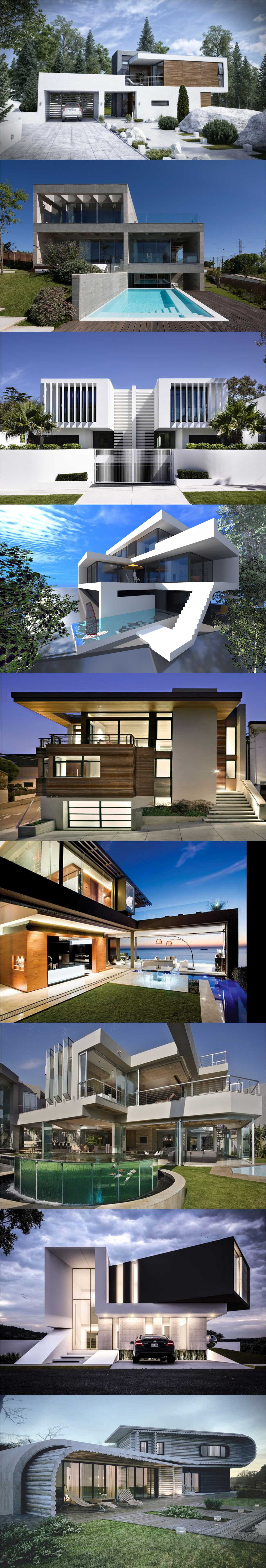 Awesome Modern House Designs 2018