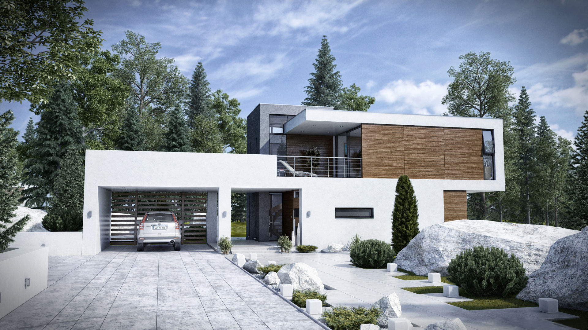 Awesome Modern House Designs 21