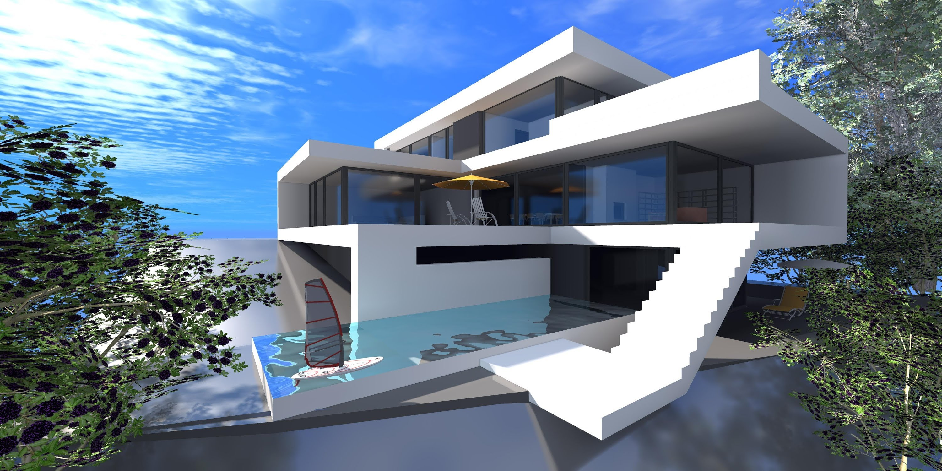 Awesome Modern House Designs 7