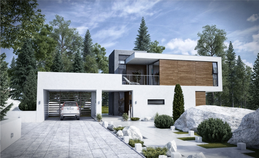 Awesome Modern House Designs Feture