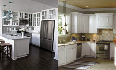 33 Best White Kitchen Cabinets