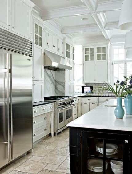 Beautiful Kitchens with White Cabinets