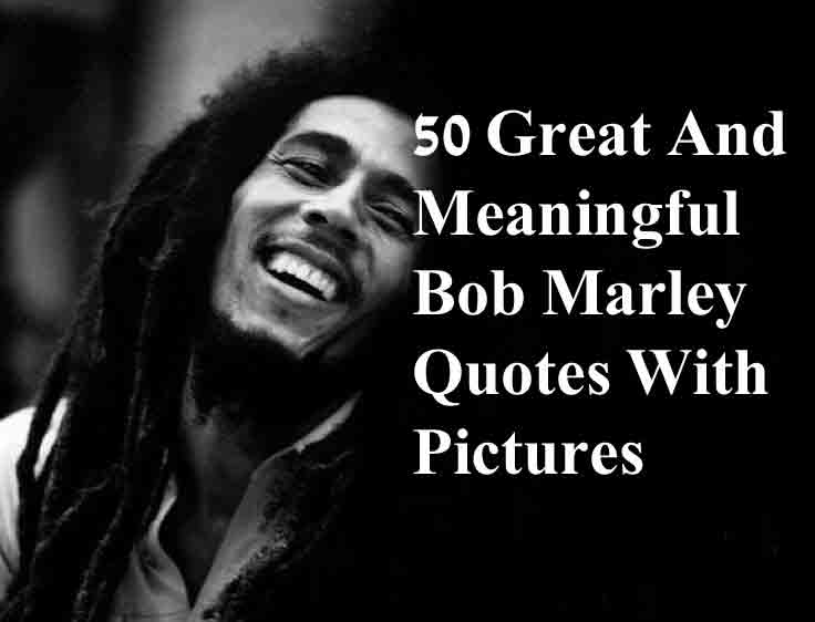 Best Bob marley quotes 1