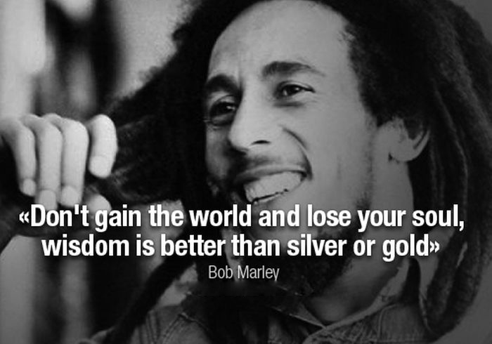 Best Bob marley quotes 19