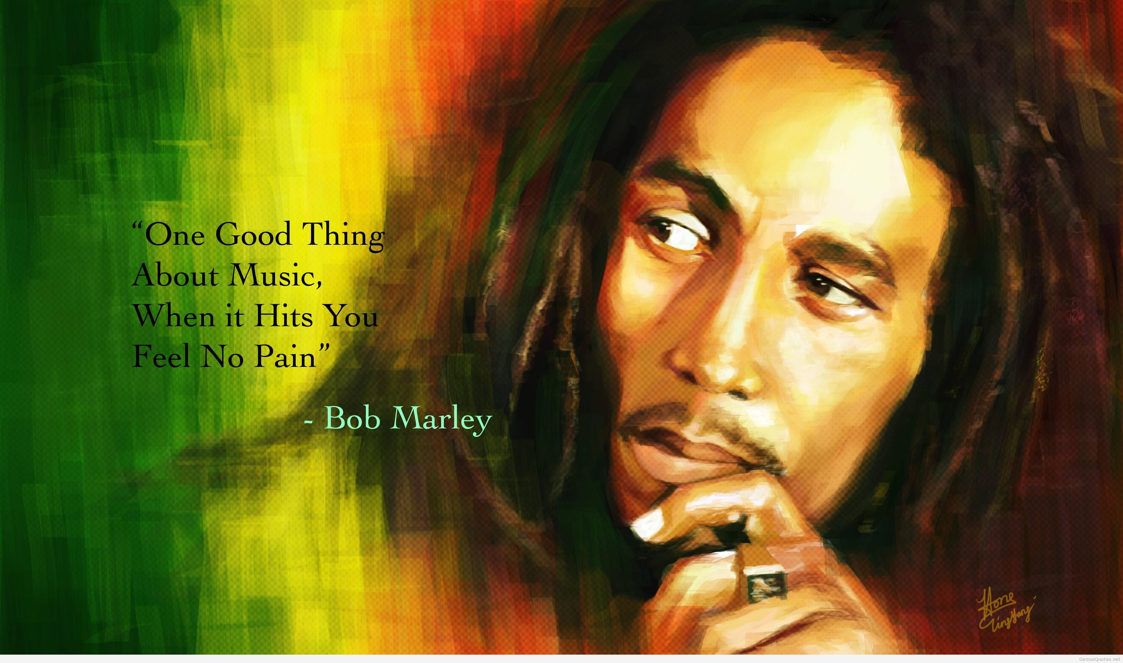 Best Bob marley quotes 23
