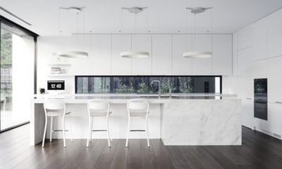 42 Amazing Contemporary White Kitchen