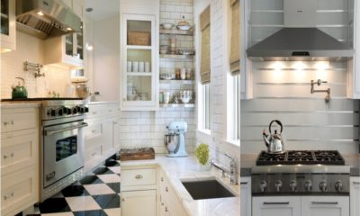 40 White Kitchen Backsplash