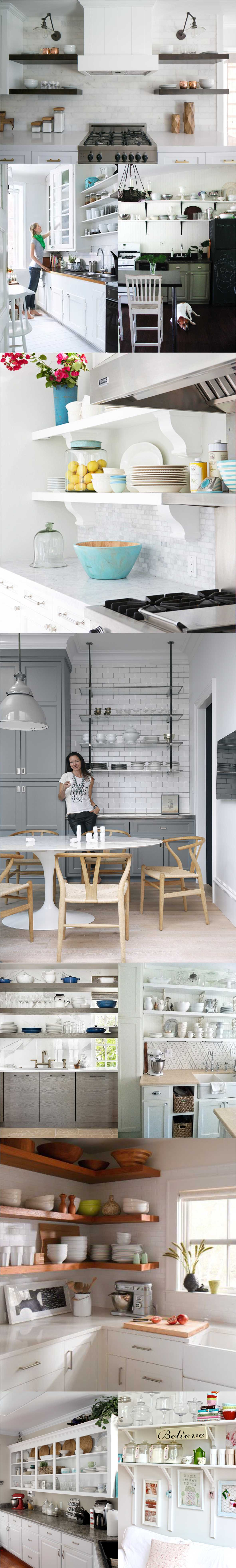 Best White Kitchen Shelves 2018