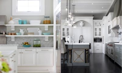 35 Best White Kitchen With Gray Furniture