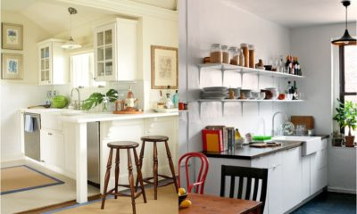 Best White Small Kitchen Feture