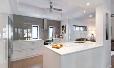31 White Kitchen Quartz