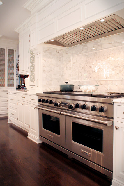 Classic White Kitchen Houzz