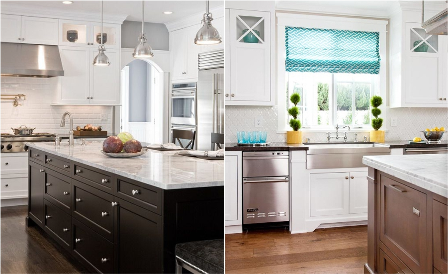 Classic White kitchen Feture