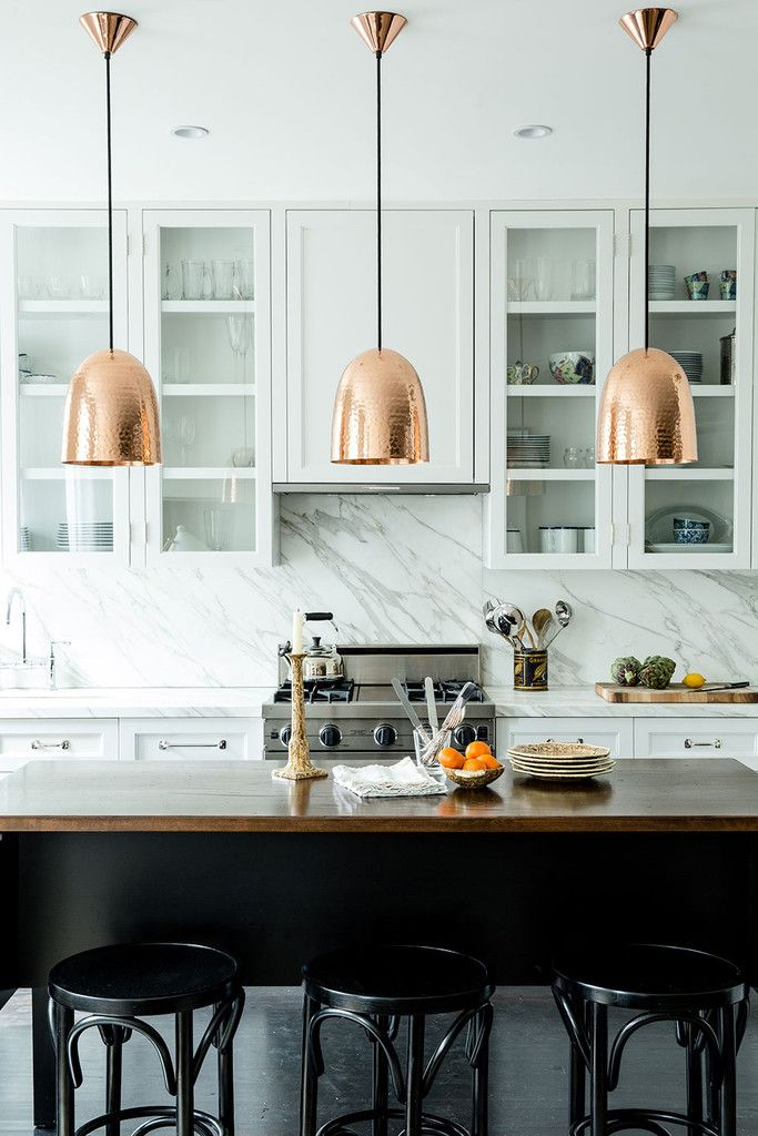 Copper Kitchen Pendant Light