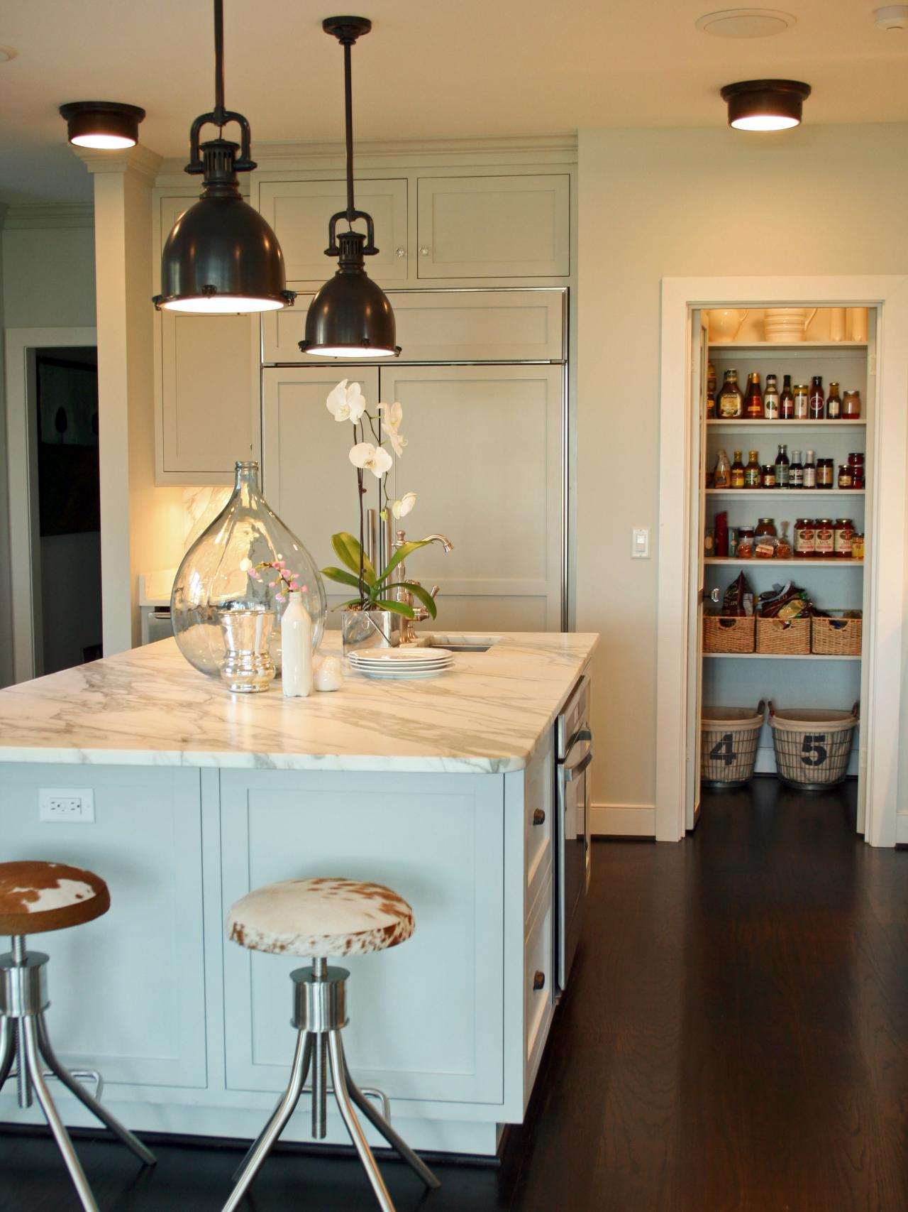 Country Kitchen Island Lighting