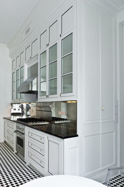 Elegant Contemporary White Kitchen