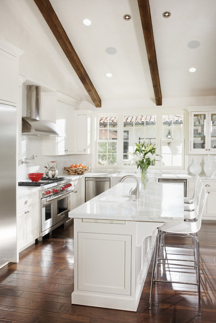 Elegant White Kitchen Design