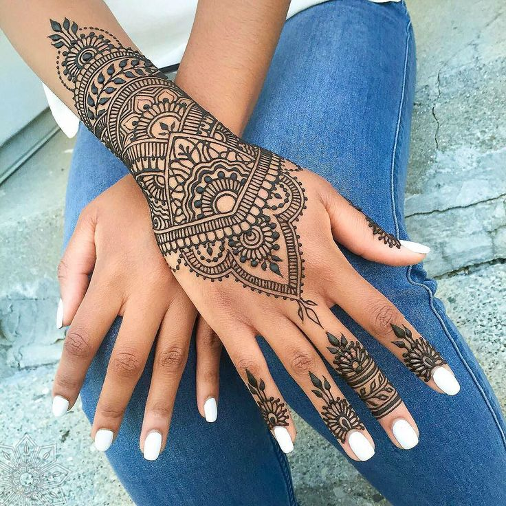Henna tattoo ideas with images 16