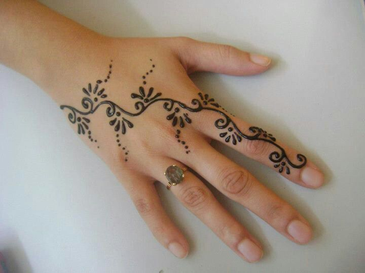 Henna tattoo ideas with images 17