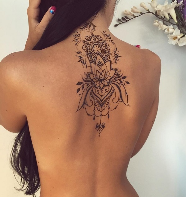 Henna tattoo ideas with images 19