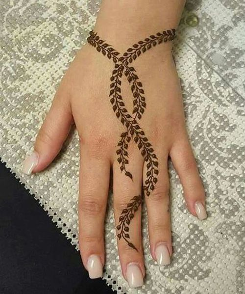 Henna tattoo ideas with images 2