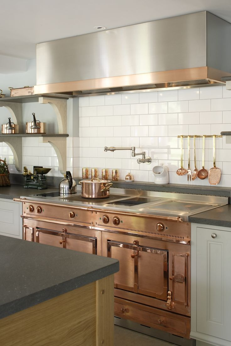 Kitchen Appliances with Copper