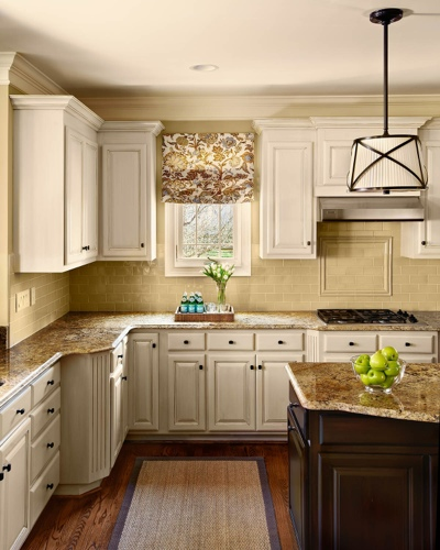 Kitchen Colors with Off White Cabinets