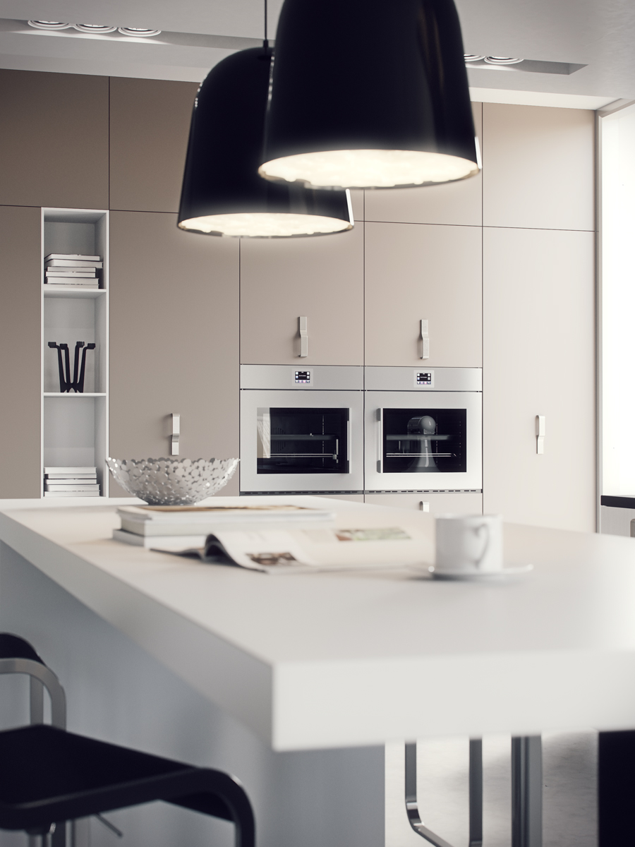 Kitchen Drum Pendant Light