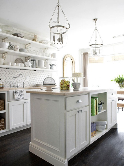 Kitchen Pendants Over Island
