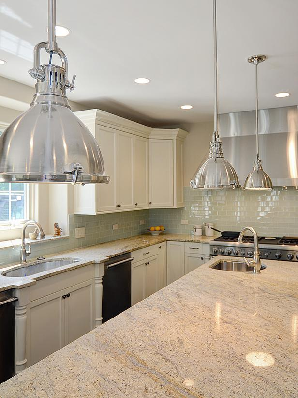 Kitchens with Bianco Romano Granite