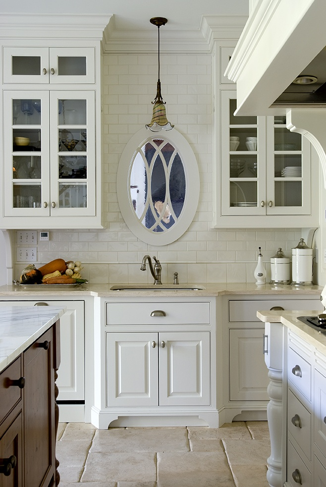 Maine Beach Cottage Kitchen