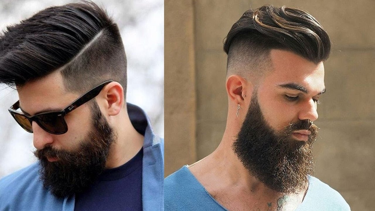 Beard Style With New Hairstyle Men 2017 Top 10 New Undercut Hairstyles For  Men 2017 U2013
