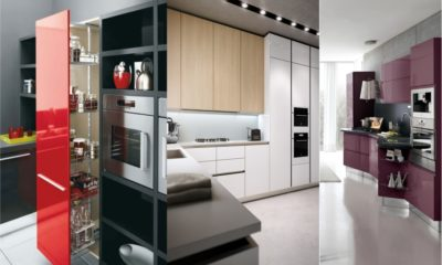 Modern White Kitchen Feture