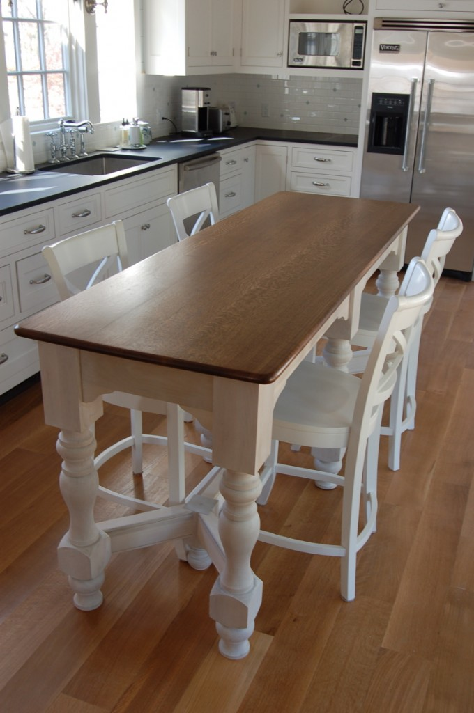 Narrow Counter Height Kitchen Table