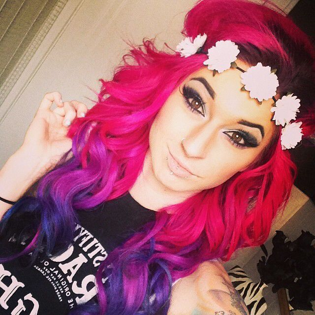 New Colourful Hairstyles for girls 1
