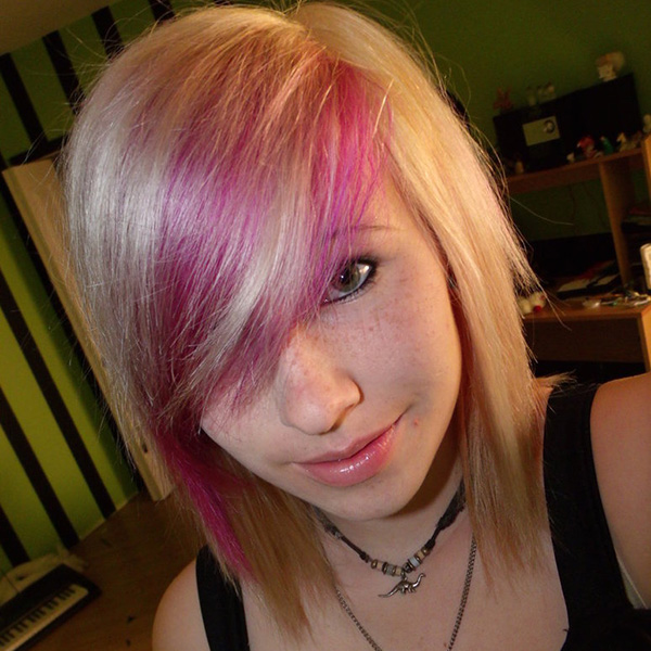 New Colourful Hairstyles for girls 11
