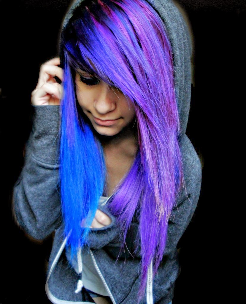 New Colourful Hairstyles for girls 14