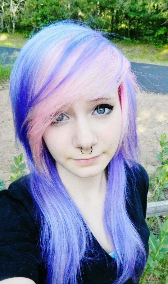 New Colourful Hairstyles for girls 15