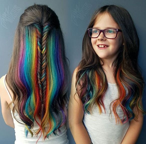 New Colourful Hairstyles for girls 24