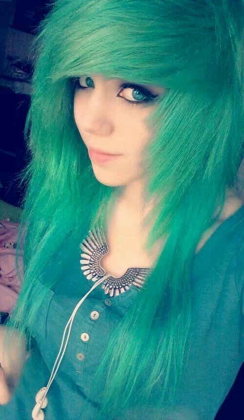 New Colourful Hairstyles for girls 25