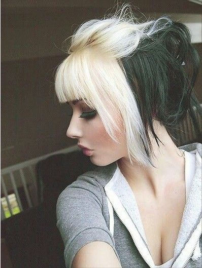New Colourful Hairstyles for girls 31