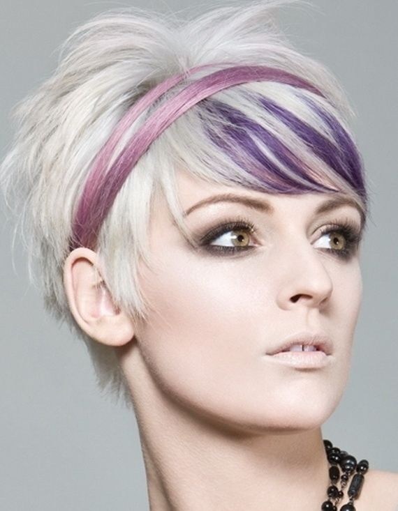 New Colourful Hairstyles for girls 34