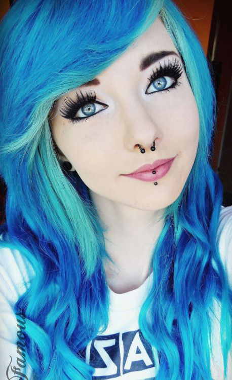 New Colourful Hairstyles for girls 36