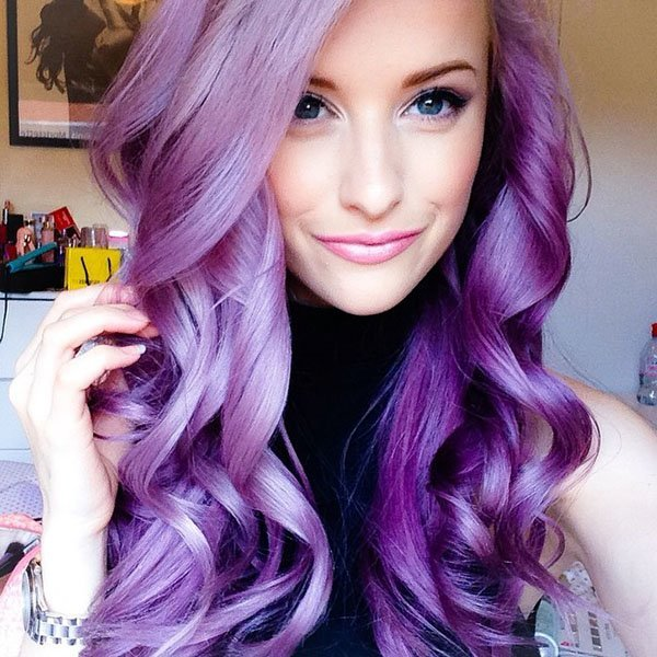 New Colourful Hairstyles for girls