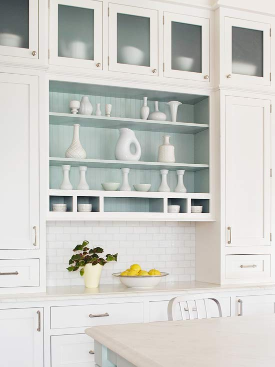 Open Shelving Kitchen Cabinets